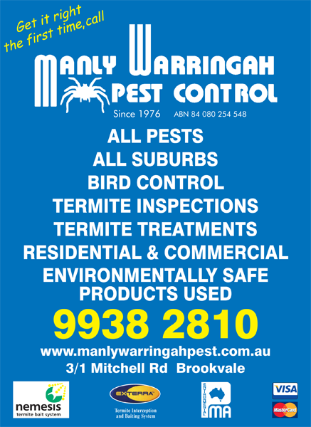 Manly Warringah Pest Control